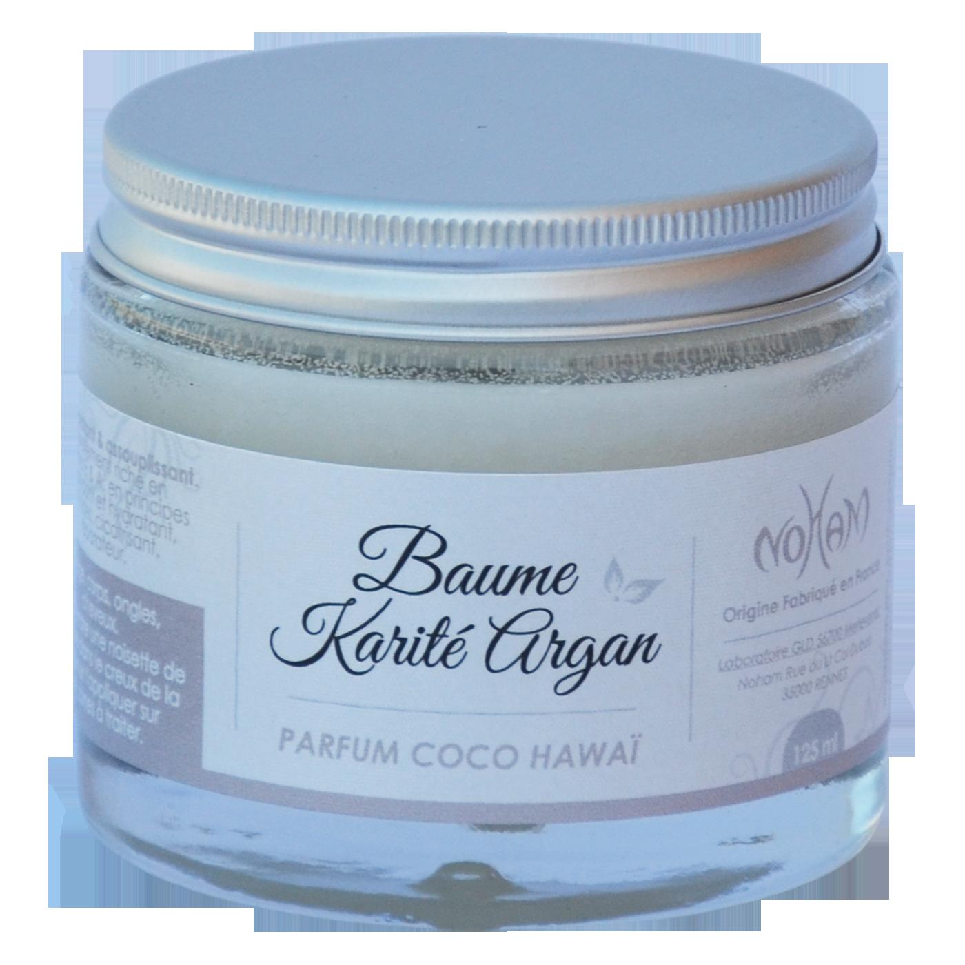 Beaume Karité Argan coco hawai