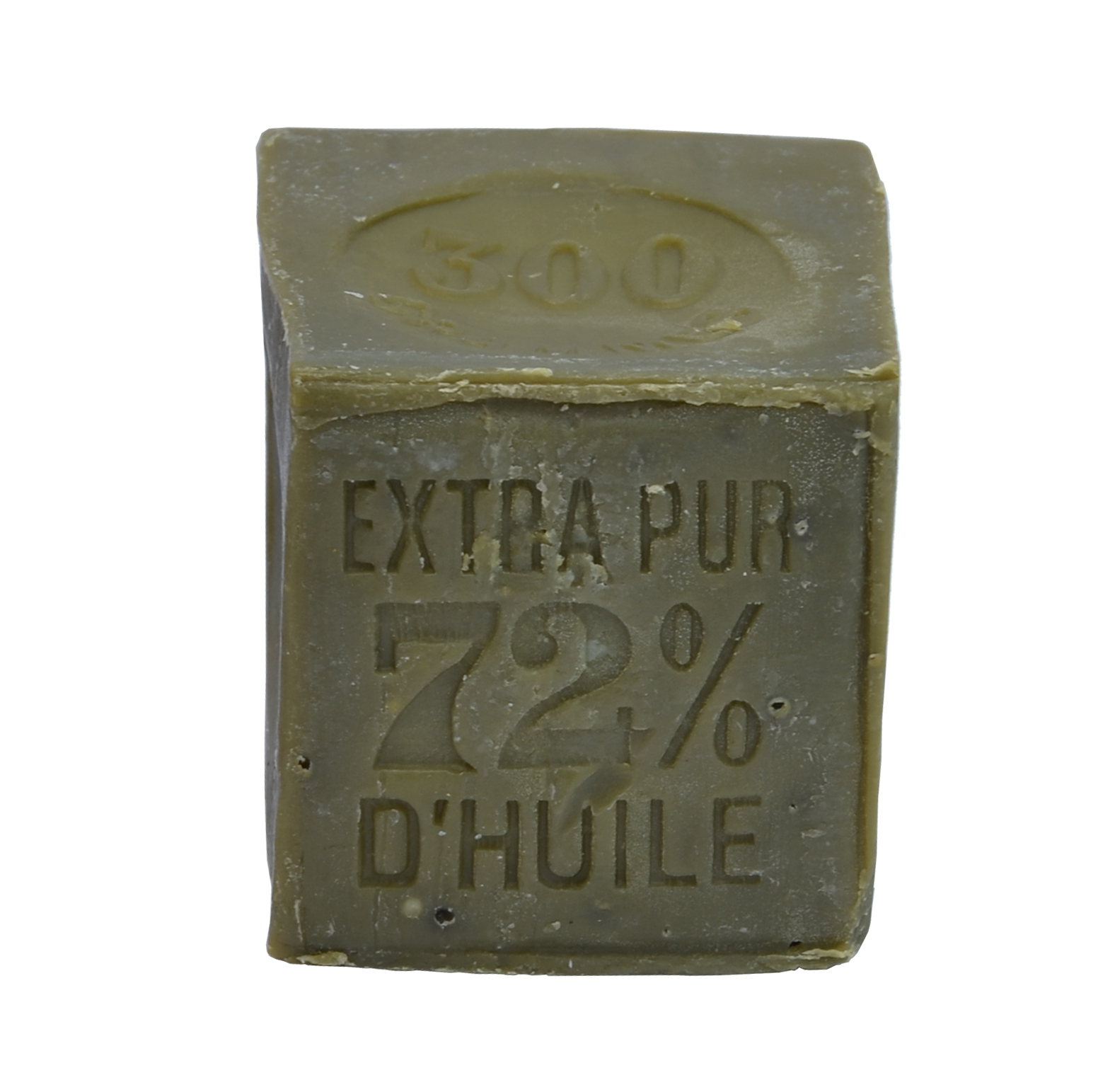 véritable savon de Marseille 300g cube vert