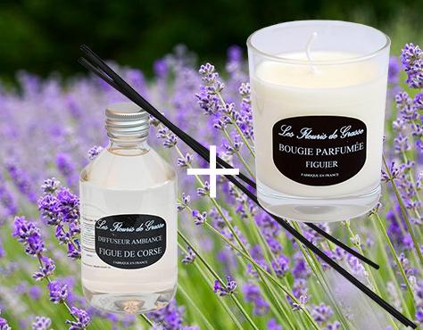 diffuseur ambiance bougie parfum e jasmin noir anti ride cr mes savons parfums. Black Bedroom Furniture Sets. Home Design Ideas