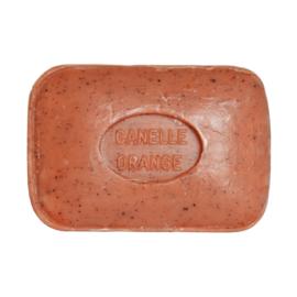 Savon de toilette 100g parfumé CANNELLE ORANGE BROYÉE – Savonnerie le SERAIL