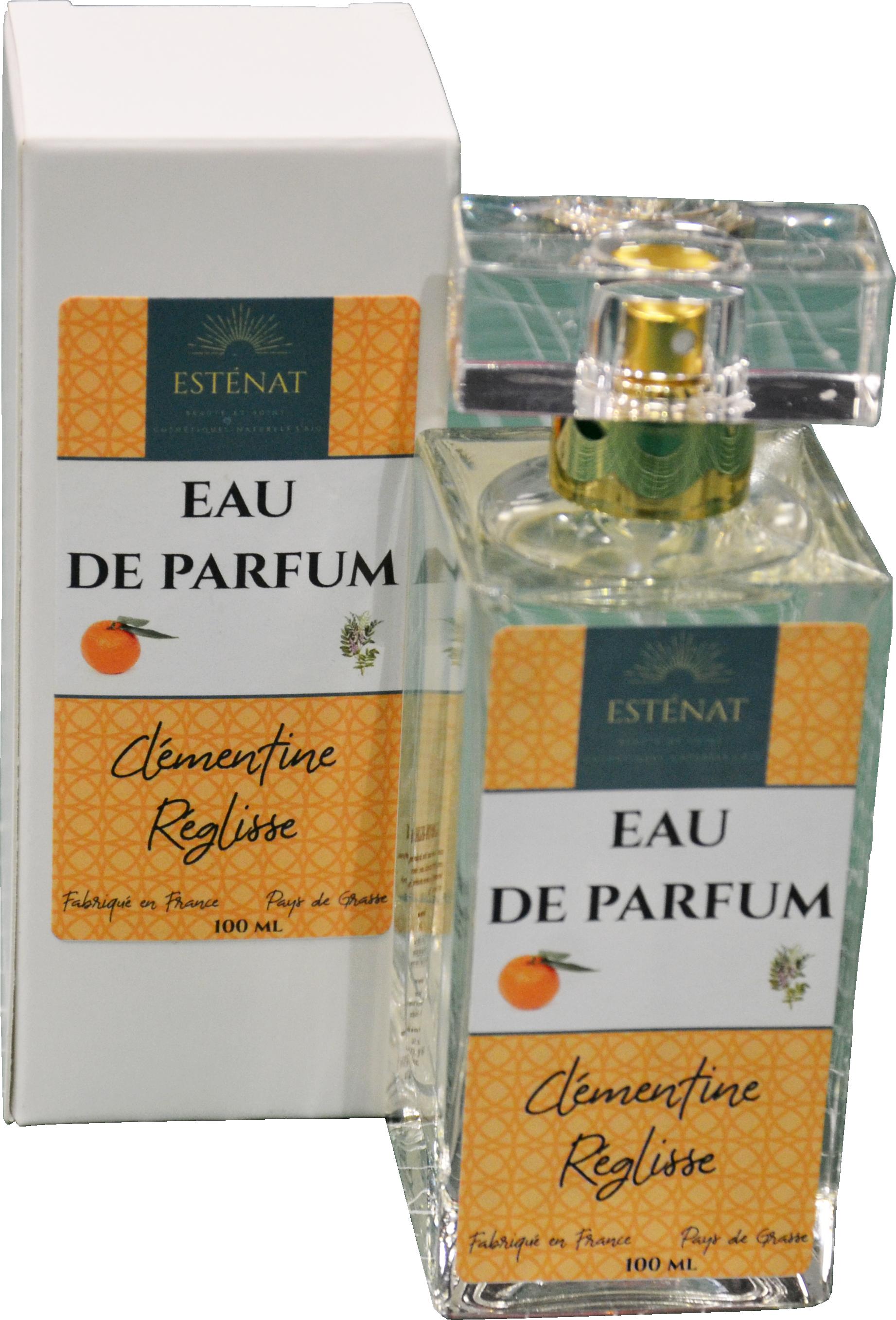 Eau de parfum Clémentine - Réglisse. Parfum de Grasse