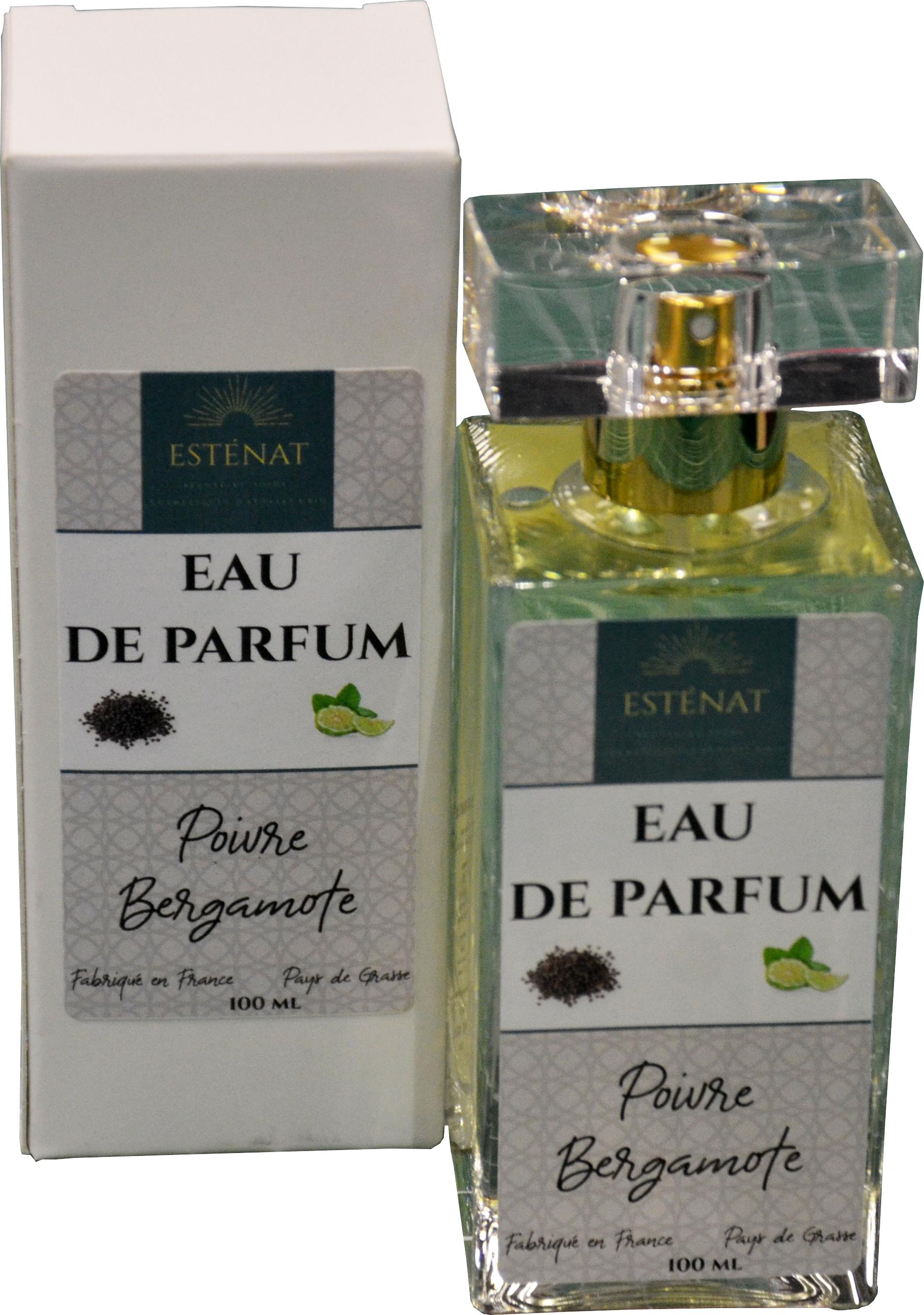Eau de parfum poivre bergamote