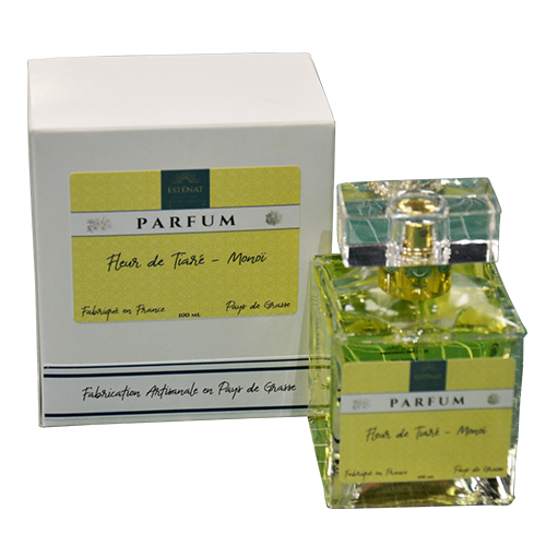 Esténat Parfums – Parfum pour Femme 100 ml Fleur De Tiaré – Monoï. Parfums de Grasse