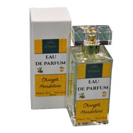 - Esténat Parfums -Eau de Parfum pour Femme 100 ml Fleur d'Oranger - Mandarine. Parfums de Grasse