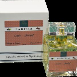 Parfum cassis chocolat
