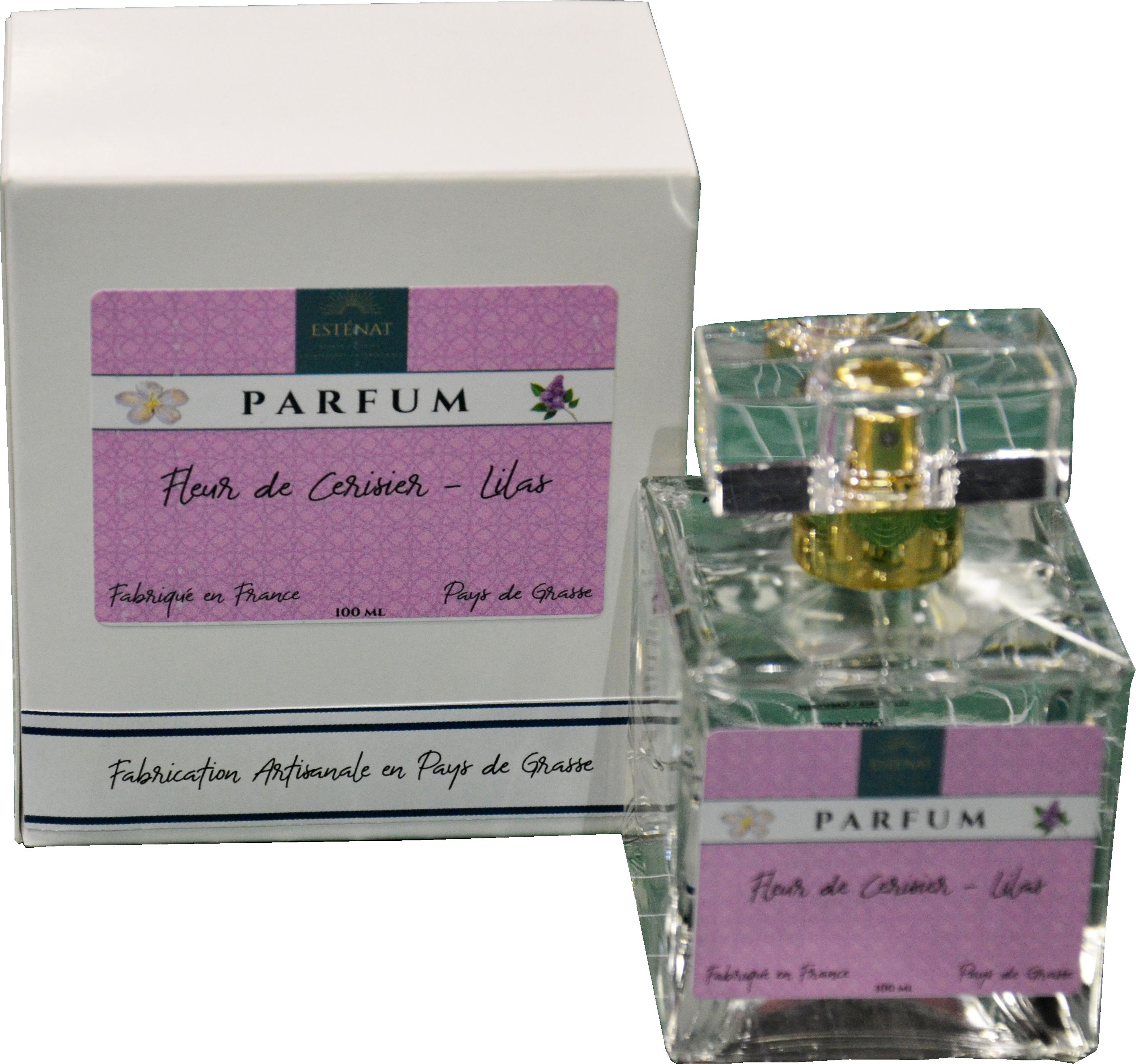 Parfum fleur de cerisier lilas