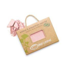 Couleur Caramel - Fard à paupières Bio n° 101 Rose lolita nacré