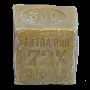 Véritable savon de Marseille authentique - cube blanc 300g