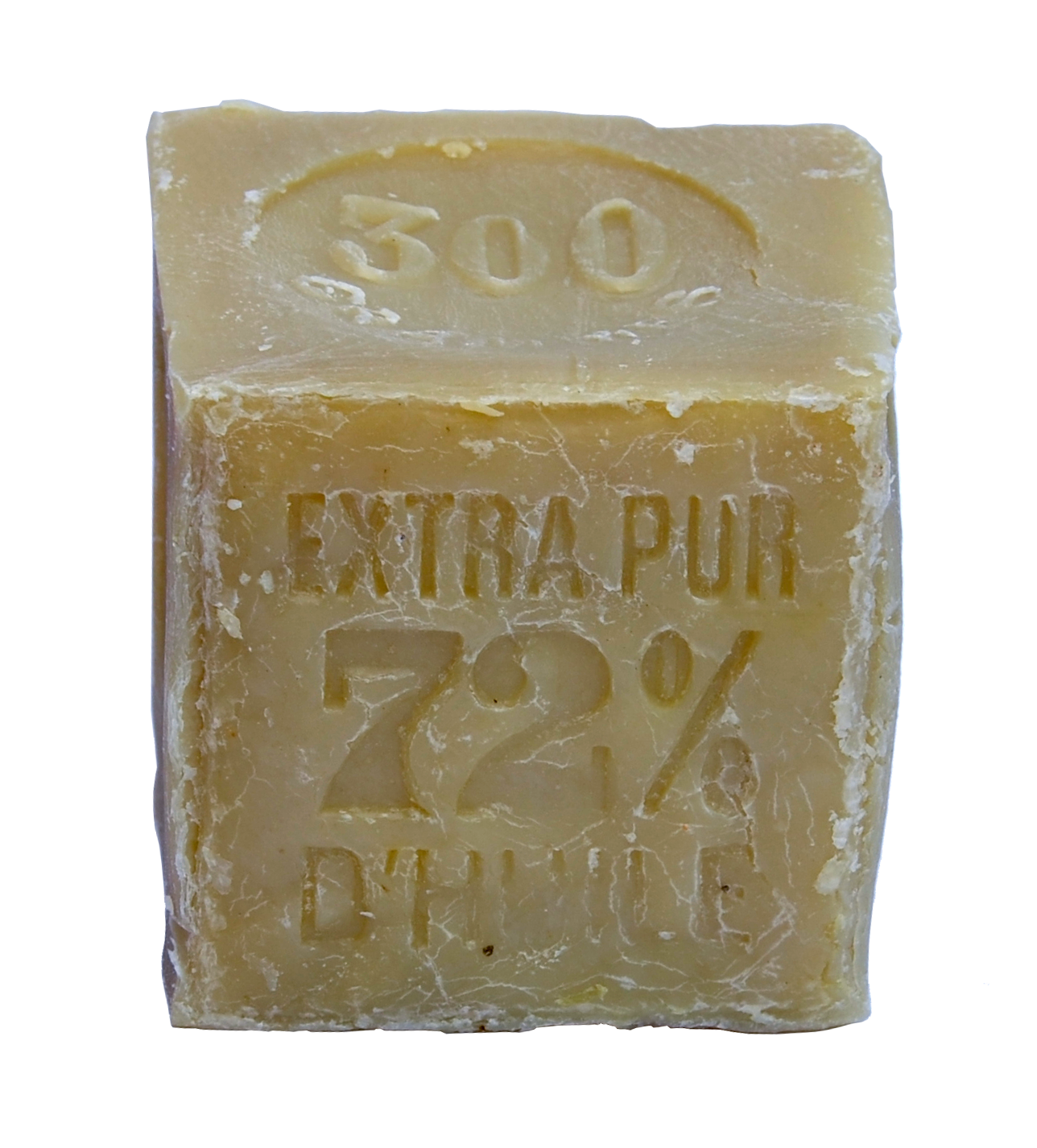 véritable savon de Marseille 300g cube blanc