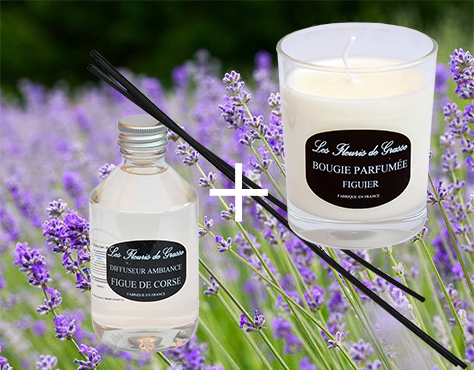 promo lot bougie-parfum figue