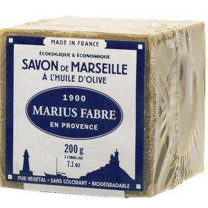 Marius Fabre - SAVON DE MARSEILLE à l'huile d'olive, 200 Gr