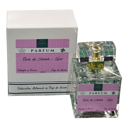 Esténat Parfums – Parfum pour Femme 100 ml Fleur de Cerisier – Lilas. Parfums de Grasse