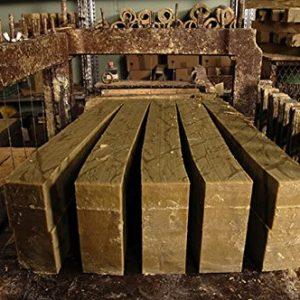 Barre de véritable savon de Marseille 1,4 Kg. Savon brut EXTRA PUR d'huile d'OLIVE - Garantie.sans huile de palm