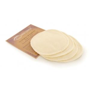 Couleur Caramel – 4 Eco lingettes démaquillantes – 11 cm