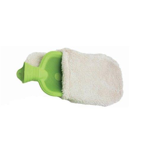Bouillotte à eau en caoutchouc naturel certifié FSC et housse coton bio 2 litres