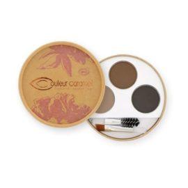 Couleur Caramel Kit Sourcils Foncé