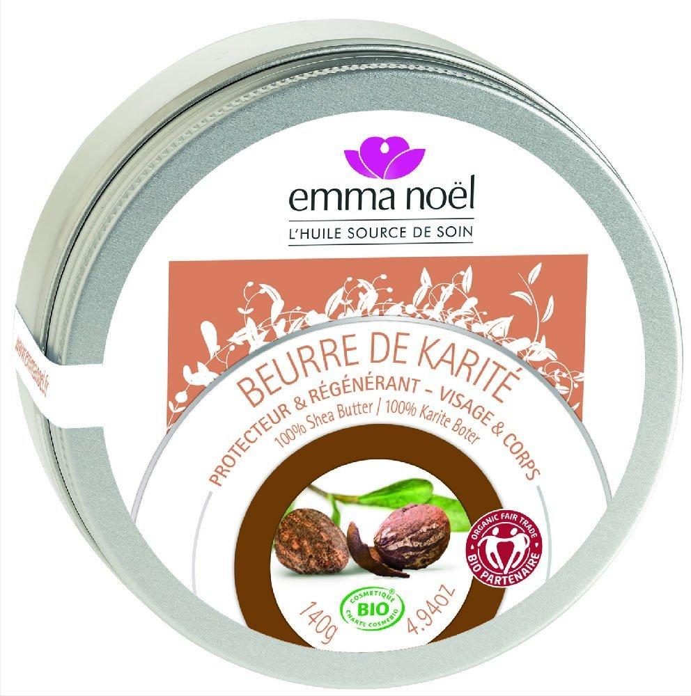 Emma noël Beurre de Karité Cosmébio Equitable 140 g