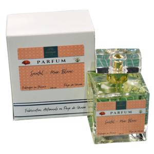 Esténat Parfums – Parfum pour Femme 100 ml santal musc blanc. Parfums de Grasse –