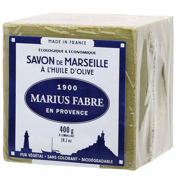 Marius Fabre - Savon de Marseille à l'huile d'olive - 400g