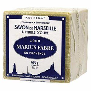 Savon de MARSEILLE à L'HUILE D'OLIVE - Cubes de 600g - Marius Fabre