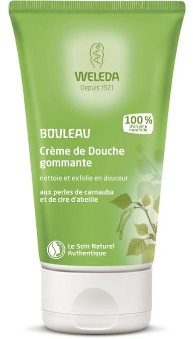 WELEDA Crème de douche gommante au Bouleau - 150ml