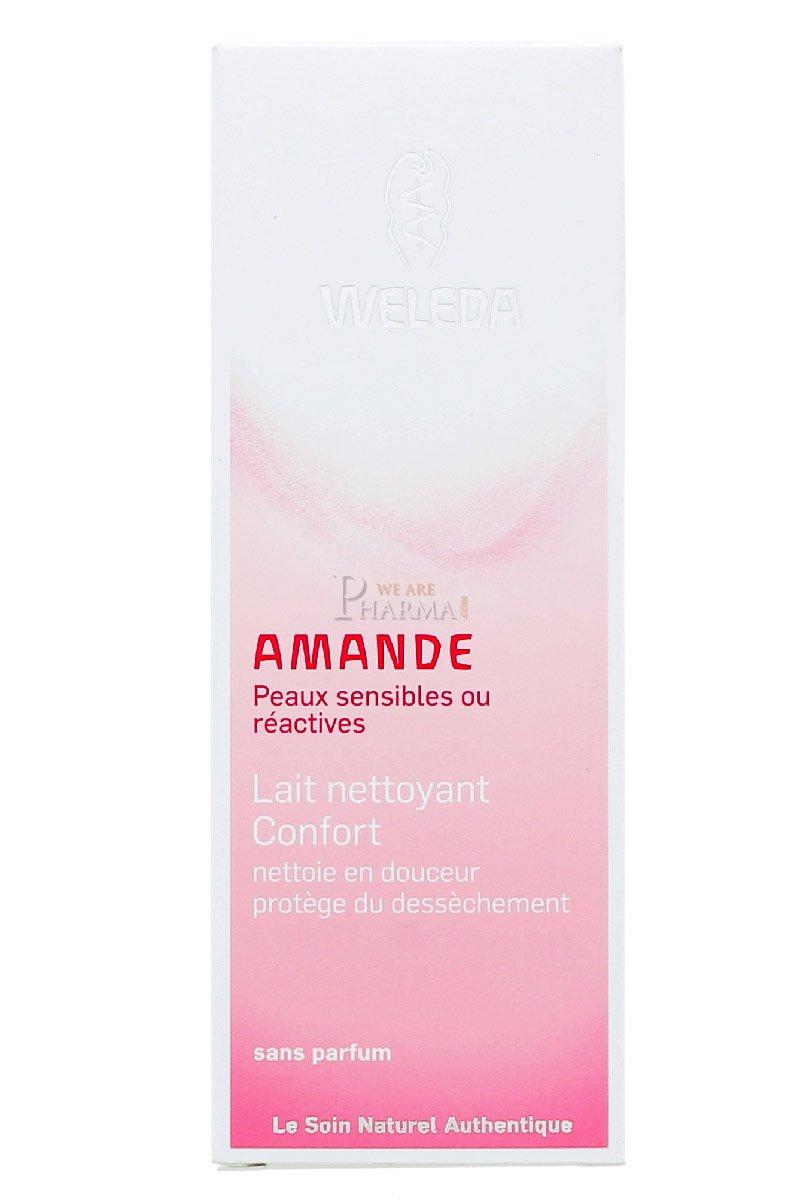 Weleda Amande Lait Nettoyant Confort 75 ml
