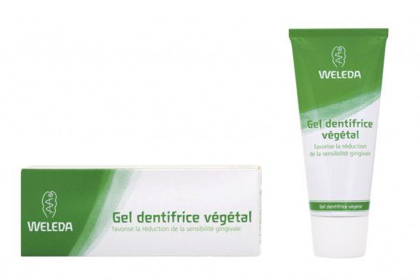 Weleda Gel dentifrice végétal sensibilité gingivale 75ml