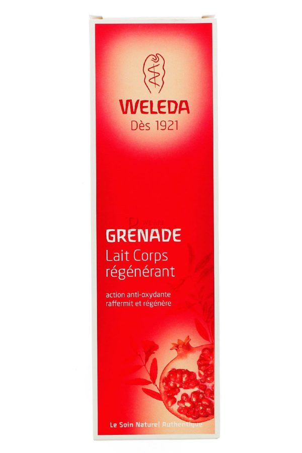 Weleda Lait Corps Régénérant à la Grenade