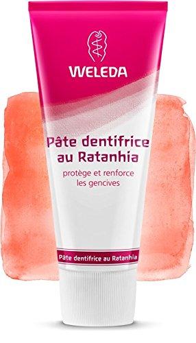 Weleda Pâte dentifrice au Ratanhia goût anis 75ml