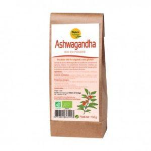 Ashwagandha poudre bio certifié Ecocert 150g