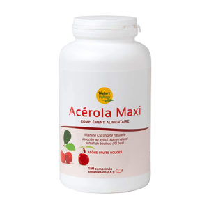 Nature & Partage - Acérola Maxi 300 jours