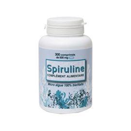 Spiruline contrôlée Ecocert 300 comprimés de 500mg