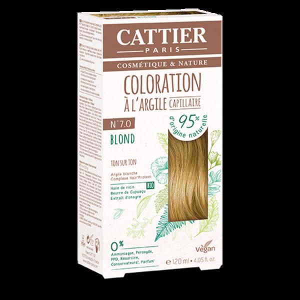Cattier Paris - COLORATION TON SUR TON – BLOND 7.0
