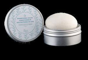 Shampoing Solide - Cheveux secs, colorés, abimés - Autour du bain
