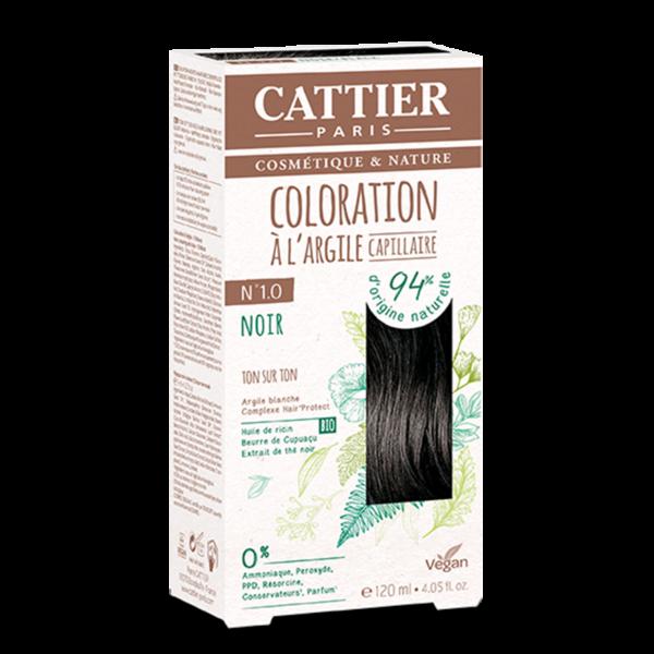 Cattier Paris - COLORATION TON SUR TON – NOIR 1.0