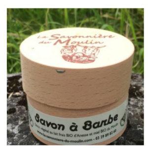 SAVON BARBE 30% environ 100g - La Savonnière du Moulin