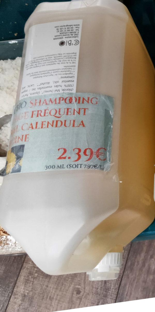 Shampoing usage fréquent Miel Calendula Avoine - L'artisan Savonnier 1 L