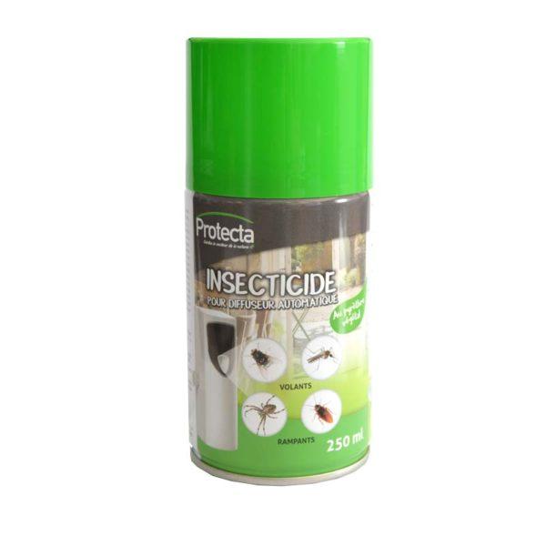 Aérosol insecticide pour diffuseur automatique 250ml - Protecta