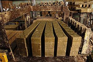 Barre de véritable savon de Marseille 1,4 Kg. Savon brut EXTRA PUR d'huile d'OLIVE - Garantie sans huile de palm - Le serail