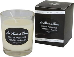 Bougies Parfumées Cannelle - Orange 130g - La Bastide des Arômes