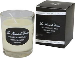 Bougies Parfumées Fleur d'oranger 130g - La Bastide des Arômes