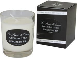Bougies Parfumées Poudre de Riz 130g - La Bastide des Arômes