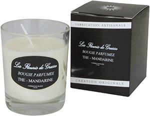Bougies Parfumées Thé Mandarine 130g - La Bastide des Arômes